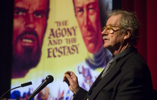Sir Christopher Frayling introduces The Agony and the Ecstasy at Widescreen Weekend 2016