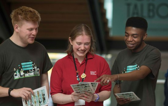 National Science and Media Museum volunteers at the first Yorkshire Games Festival
