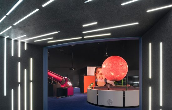 Wonderlab gallery at the National Science and Media Museum