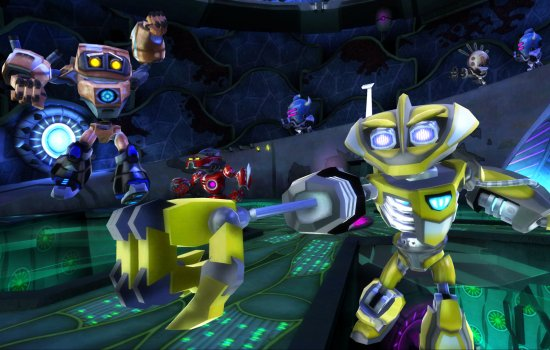 Screenshot from the videogame 'Spare Parts'