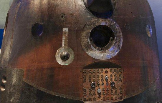 Detail of the Soyuz descent capsule