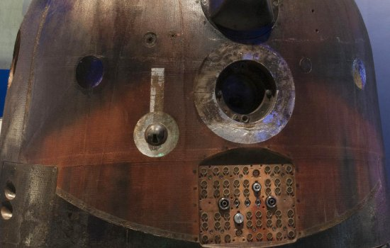 Detail of the Soyuz descent capsule