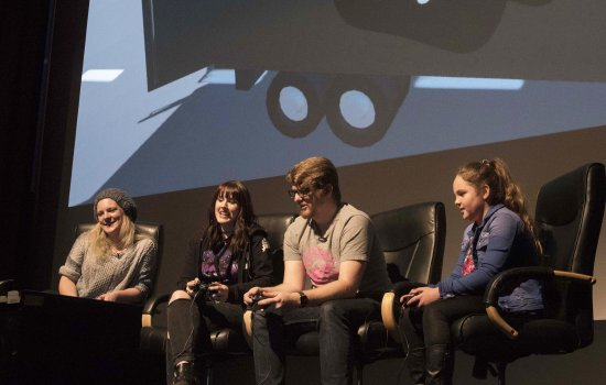 Stars of The Yogscast host live big-screen gameplay at Yorkshire Games Festival 2016