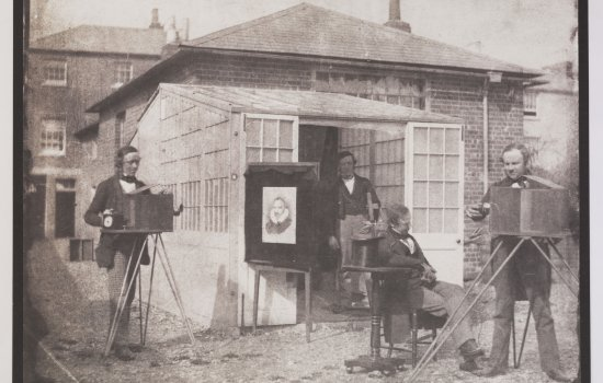 Talbot and Nicolaas Henneman at the Reading establishment, 1846