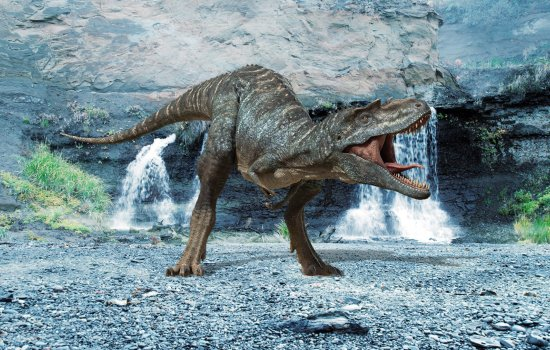 Still image of a CGI dinosaur from Walking with Dinosaurs​