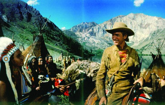 A still from the film How the West was Won