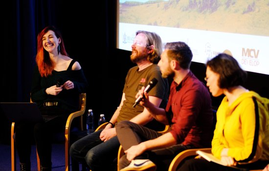 Panel event at Yorkshire Games Festival