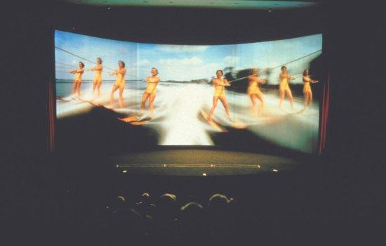 Pictureville Cinerama screen