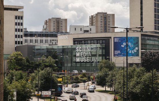 Exterior of National Science and Media Museum seen from Bradford