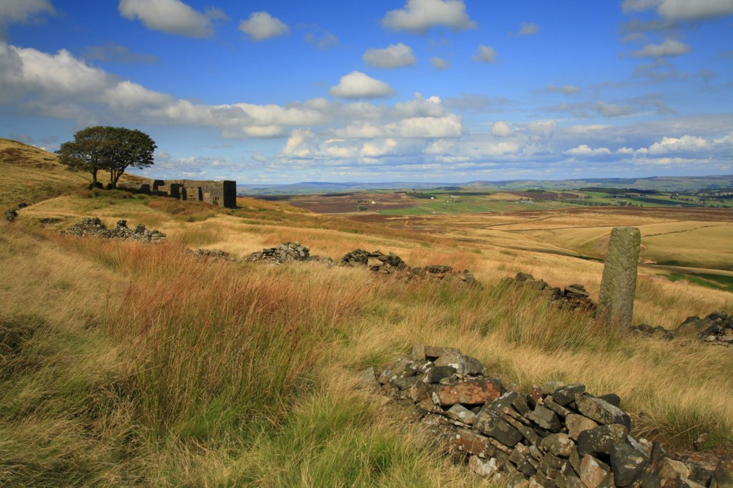 Top Withens is said to be the inspiration for Emily Brontë's Wuthering Heights