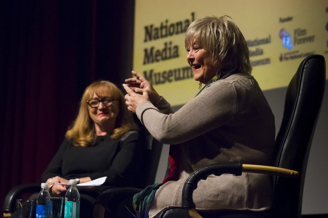 Bond girl Jenny Hanley in conversation with Mary Dowson at Widescreen Weekend 2016