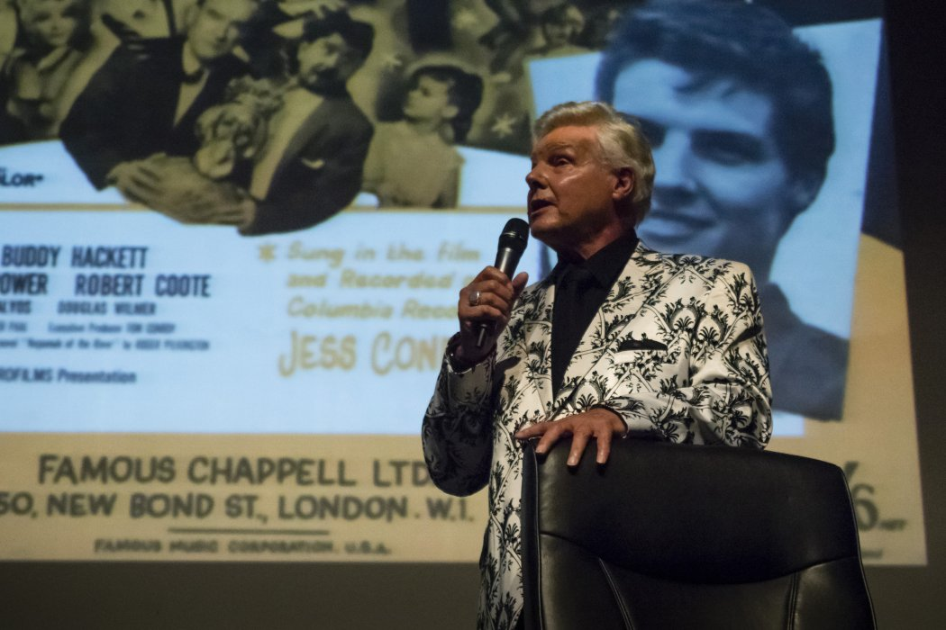 Jess Conrad in conversation at Widescreen Weekend 2016