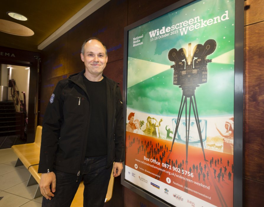 Paul Franklin, winner of an Academy Award for Best Visual Effects for Interstellar, at Widescreen Weekend 2015