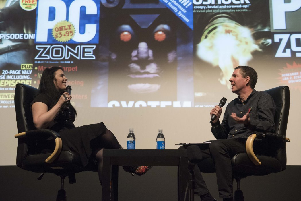 Rhianna Pratchett in conversation with Jamie Sefton at Yorkshire Games Festival 2016