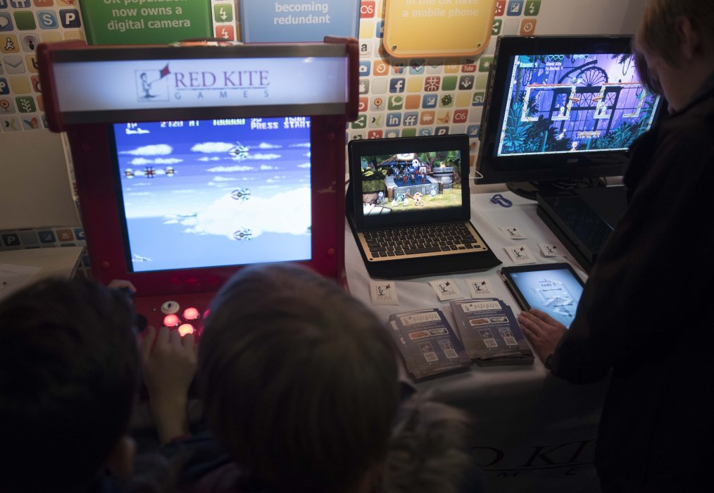 The Yorkshire Games Showcase takes over the National Science and Media Museum as part of the festival's Family Weekend