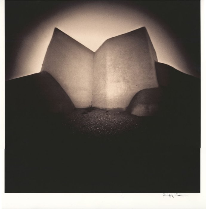 The Church at Ranchos de Taos, 2000, Bill Witliff