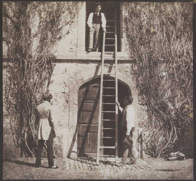 The Ladder, 1844, William Henry Fox Talbot © Science Museum Group collection