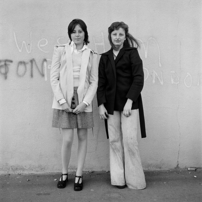 From the Free Photographic Omnibus portrait series, photographed in Brighton, Sussex, May 1974 © Daniel Meadows