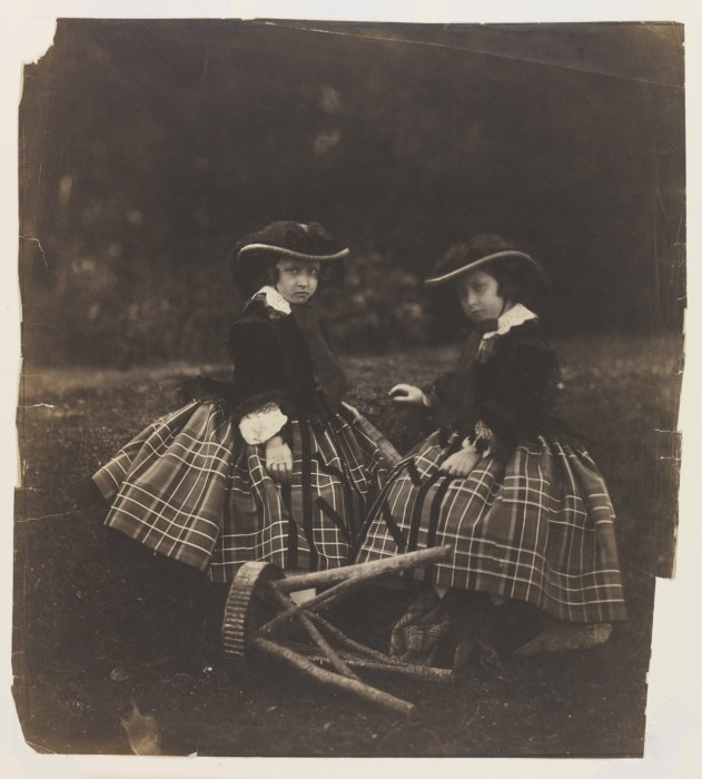 Princesses Helena and Louise, 1856, Roger Fenton © The Royal Photographic Society