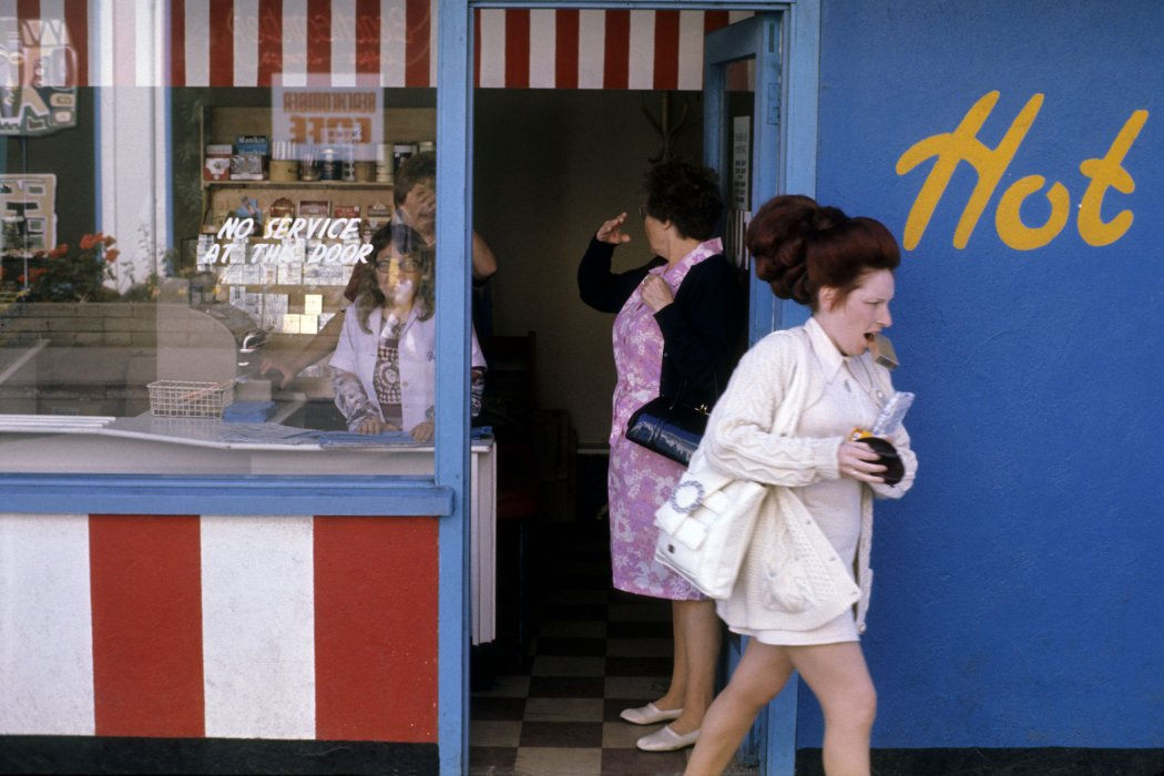 Shop, from the series Butlin's by the Sea, Filey, Yorkshire, 1972 © Daniel Meadows