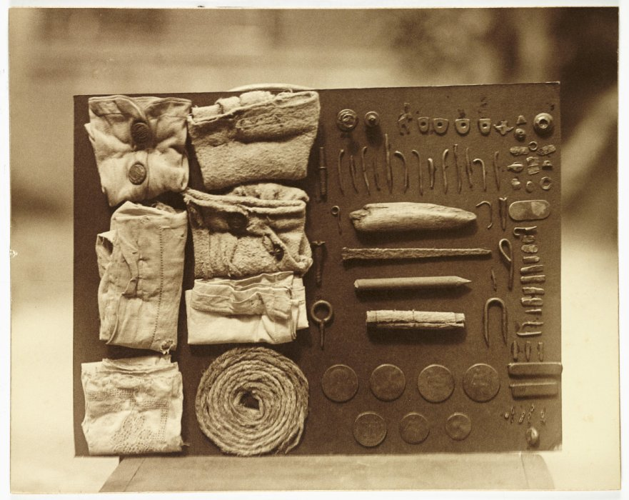 Contents of an Ostrich's Stomach, c 1930, Frederick William Bond, The Royal Photographic Society Collection