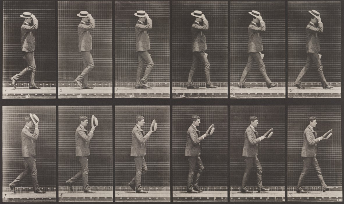 Eadweard Muybridge, from Animal Locomotion, 1887 © Science Museum Group collection