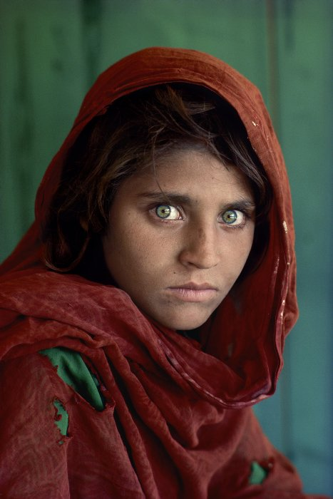 Afghan Girl, Pakistan, 1984, Steve McCurry ©​ Steve McCurry, The Royal Photographic Society Collection