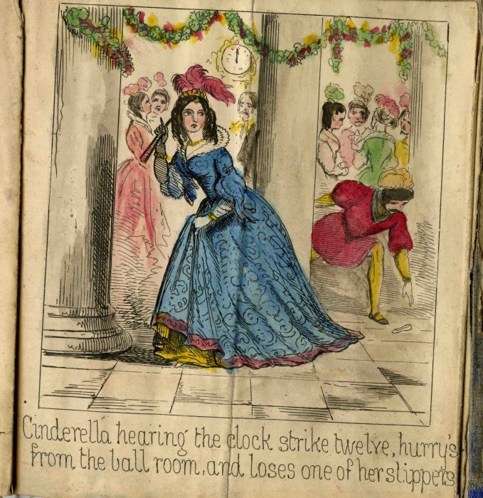 Cinderella and the Little Glass Slipper, c. 1860, courtesy of Seven Stories
