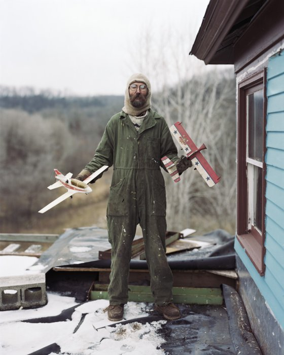 Charles, Vasa, Minnesota, 2002, from Sleeping by the Mississippi © Alec Soth