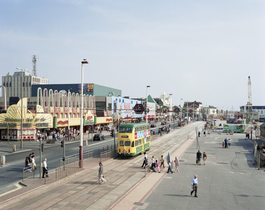 Blackpool Promenade, Lancashire, 24th July 2008 © Simon Roberts