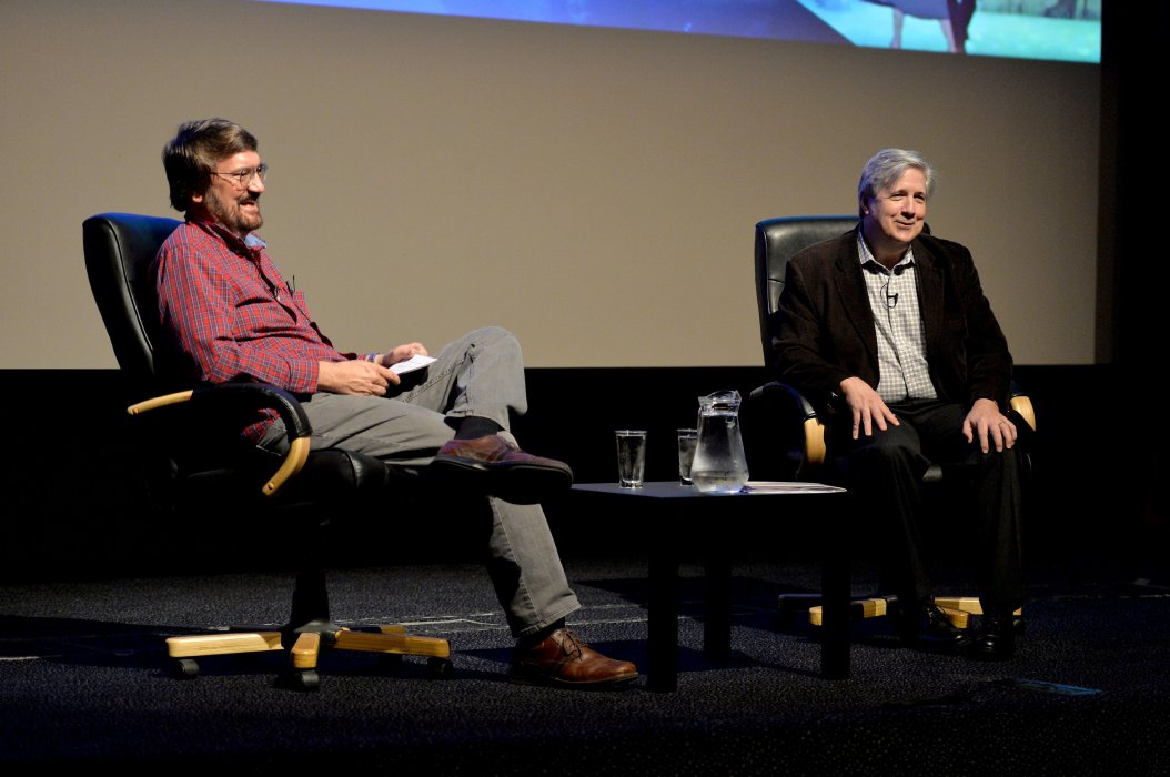 Gregory Orr in conversation with Dave Strohmaier at Widescreen Weekend 2017
