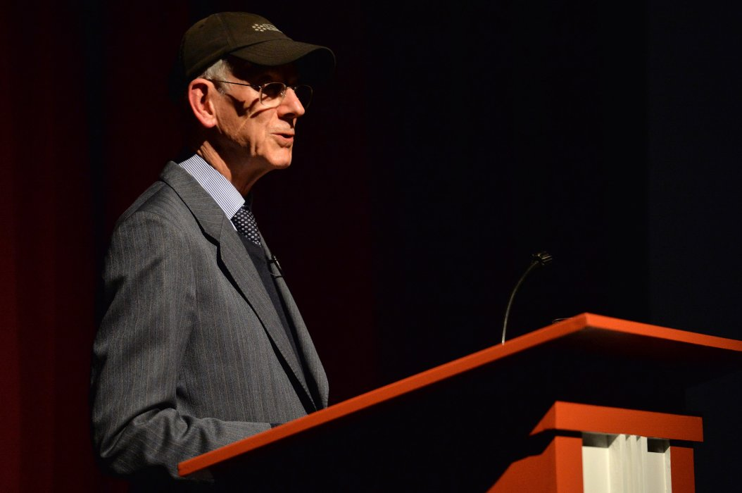 Film historian Kevin Brownlow discussing Napoléon at Widescreen Weekend 2017