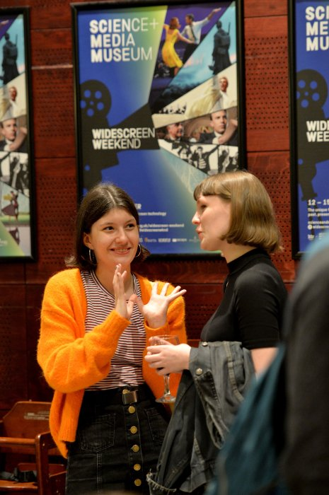 Delegates at Widescreen Weekend 2017
