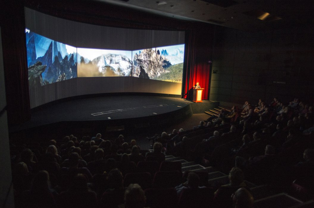 Stefan Vandemaele introduces Barco Escape at Widescreen Weekend 2017