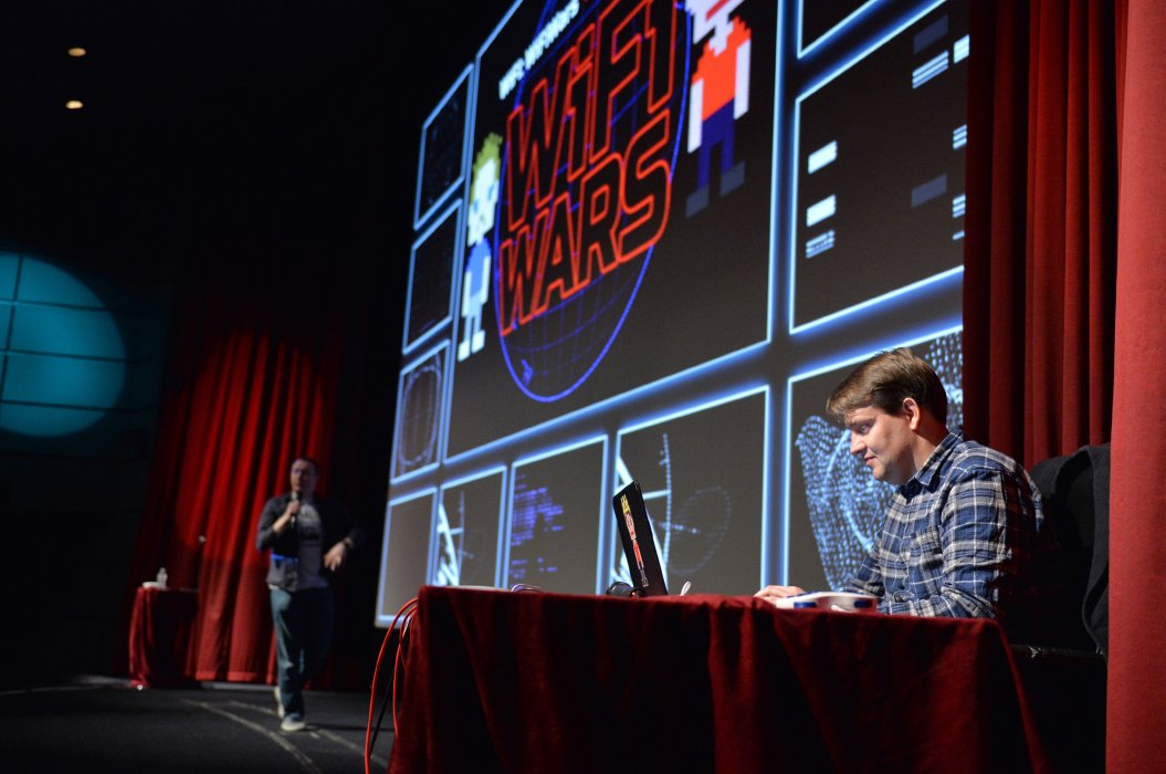 Steve McNeil and Rob Sedgebeer present WiFi Wars in Pictureville Cinema
