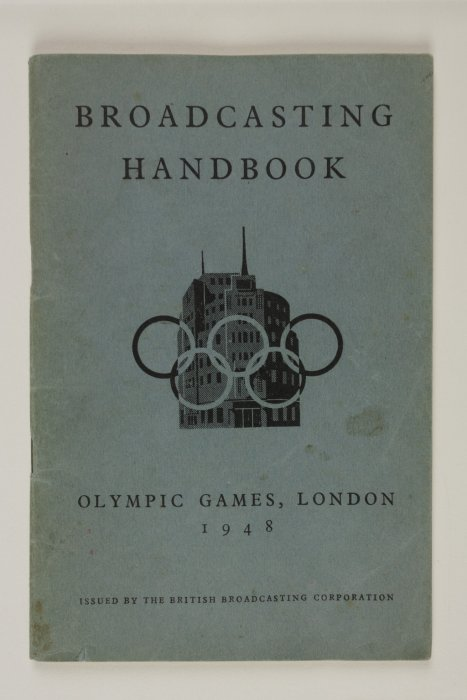 Broadcasting Handbook, Olympic Games, London, 1948