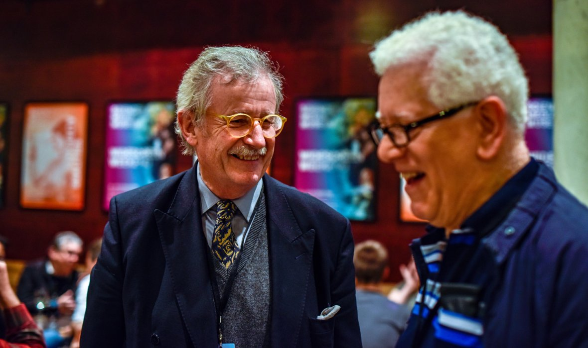 Professor Sir Christopher Frayling at our opening night reception