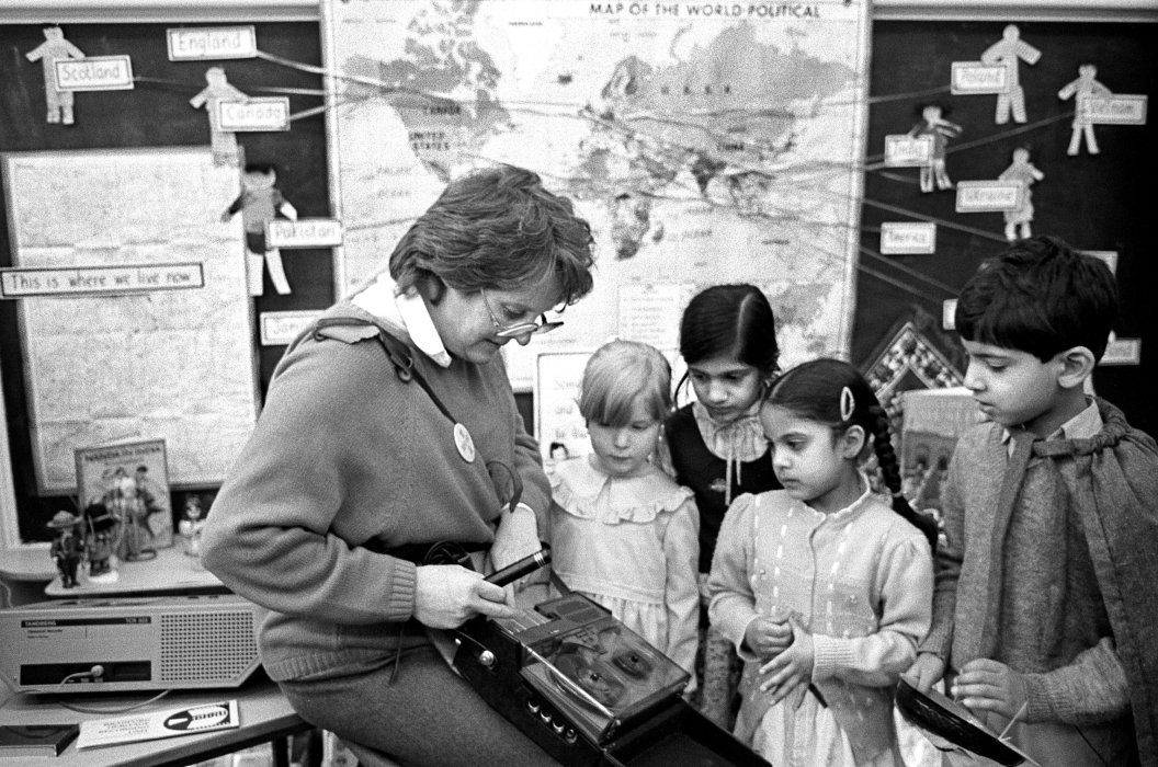 Centenary of Tyersal Primary School, Bradford, oral history session, 1986