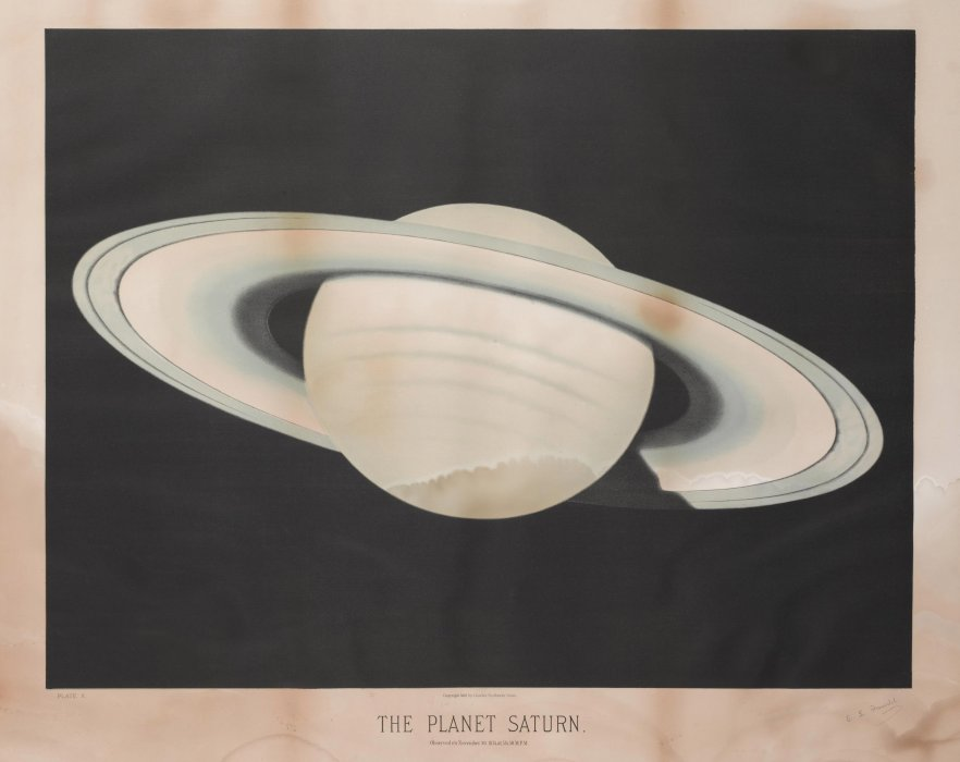 Illustration of the planet Saturn