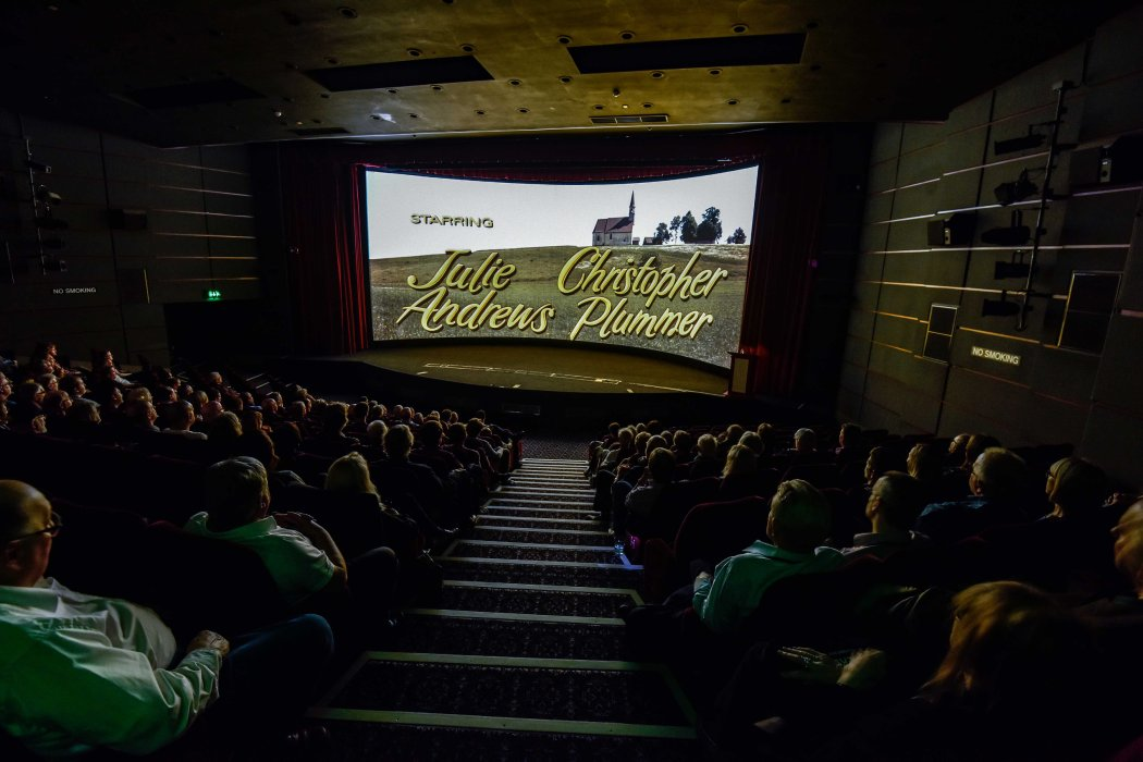 Visitors watching The Sound of Music in Pictureville theatre