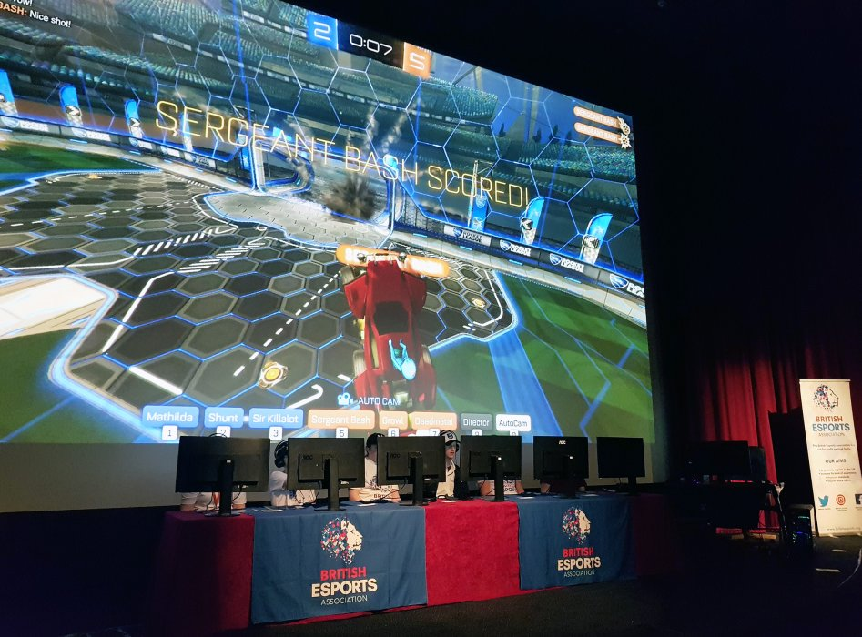 British Esports Association tournament in Pictureville