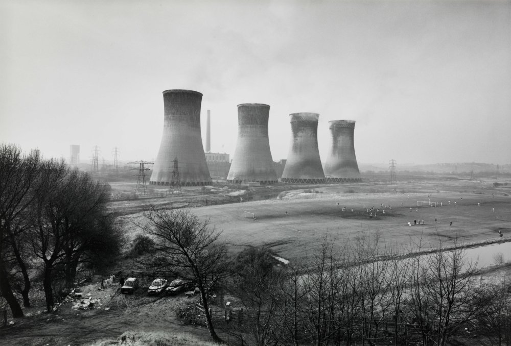 Agecroft Power Station, Salford, 1983 by John Davies
