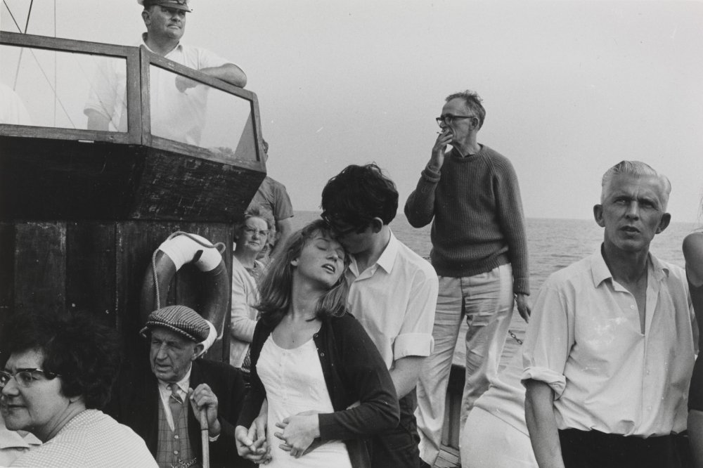 Beachy Head Tripper Boat, 1967, by Tony Ray-Jones