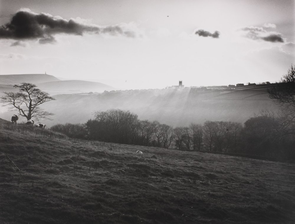 Heptonstall backlit, Yorkshire, 1978, by Fay Godwin