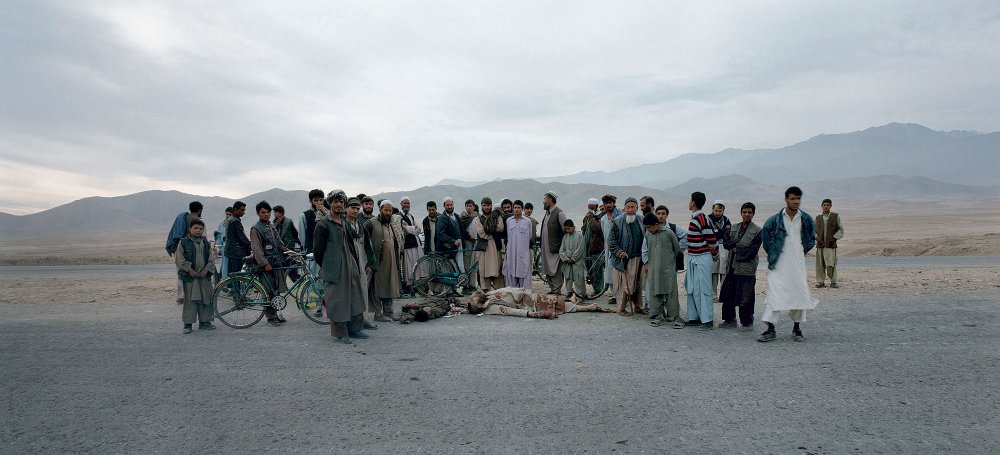 Kabul Road, 2001, Luc Delahaye, Science Museum Group collection