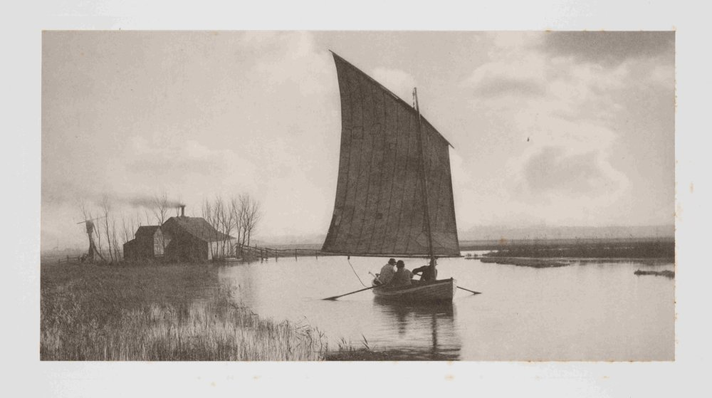 The Old Order and the New: Plate XII, Life and Landscape on the Norfolk Broads, 1887, P H Emerson and T F Goodall © Science Museum Group collection